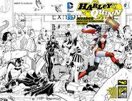 Harley Quinn Invades Comic Con International San Diego Vol 2-1 Cover-3