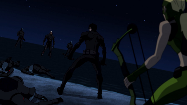 File:Nightwing & Artemis vs Manta Men.png