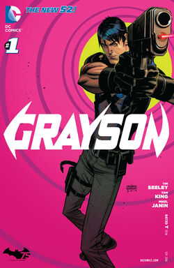 Grayson Vol 1-1 Cover-1