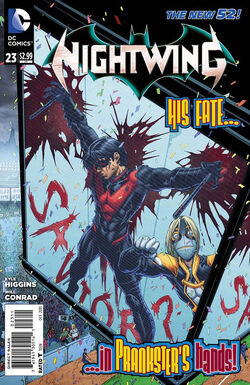 Nightwing Vol 3-23 Cover-1