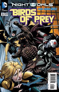 Birds of Prey Vol 3-9 Cover-1