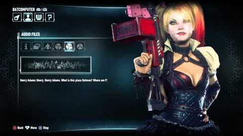 Batman Arkham Knight All Harley Quinn Audio Logs-0