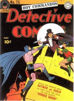 Detective Comics Vol 1-75 Cover-1