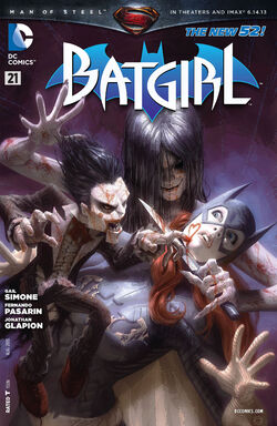 Batgirl Vol 4-21 Cover-1