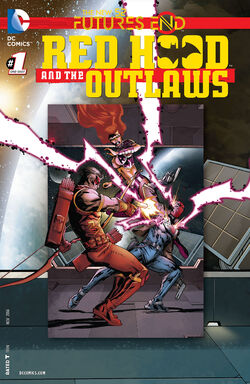 Red Hood and The Outlaws Vol 1 Futures End-1 Cover-1