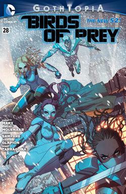 Birds of Prey Vol 3-28 Cover-1