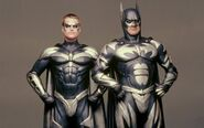 Batman & Robin - Batman and Robin (Silver suits)