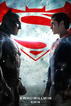 Batman v Superman Dawn of Justice (poster)