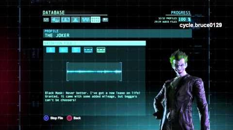Extortion File- The Joker