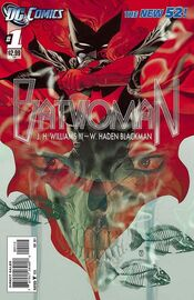 Batwoman Vol 1-1 Cover-2