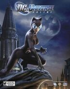 Dc universe online Catwoman poster