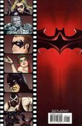 Batman & Robin comic book back