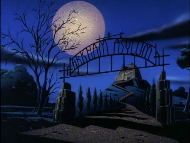 Arkham Asylum Batman The Animated Series Wiki Fandom