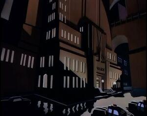 Gotham City Police Department - Batman:The Animated Series ...