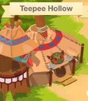 Teepee hollow