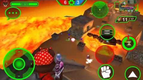 Battlebears Gold toxic rifle gameplay