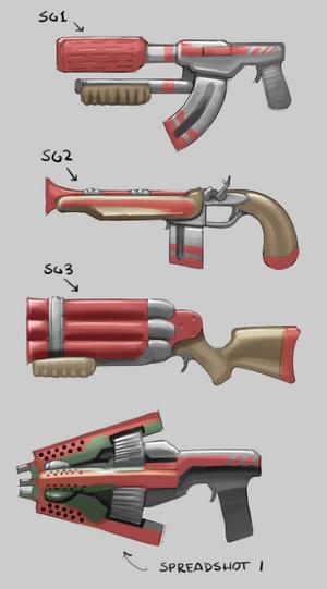 Shotgun concept