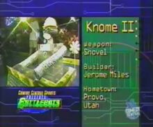 Knome II stats 1.0