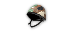 French Desert Camo Helmet