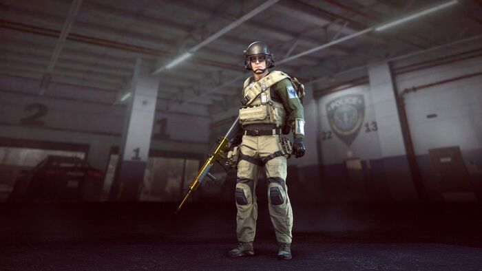 SWAT Operator Elite
