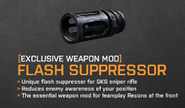 FlashSuppressor SKS BF3