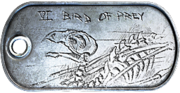 Bird of Prey Dog Tag
