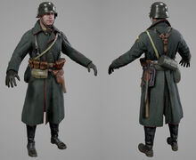 Battlefield 1 german scout soldier by luxox18-dada18v