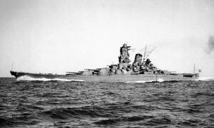 Yamato during Trial Service