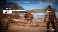 BF1 Sopwith Camel dogfighter