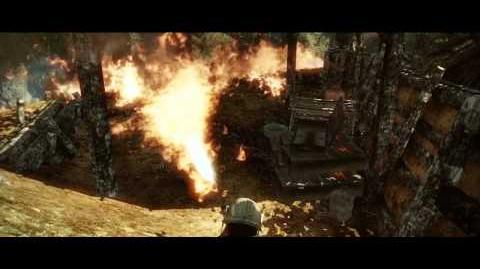 Battlefield Bad Company 2 Vietnam Flame-thrower Action