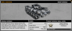 BFBC2 BMD-3 Bakhcha Stats