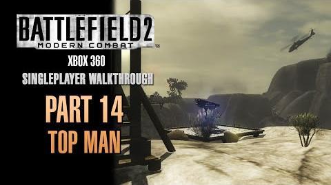 Battlefield 2 Modern Combat Walkthrough (Xbox 360) - Part 14 - Top Man
