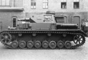 Short-barrel panzer iv