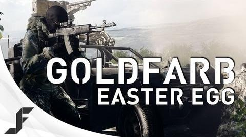 Battlefield 3 GOLDFARB - New Easter Egg!