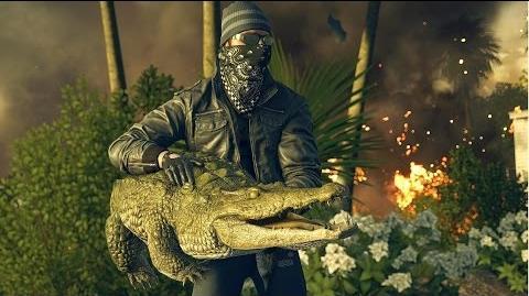 Gator bait - Battlefield Hardline alligator GUN! SPOILERS