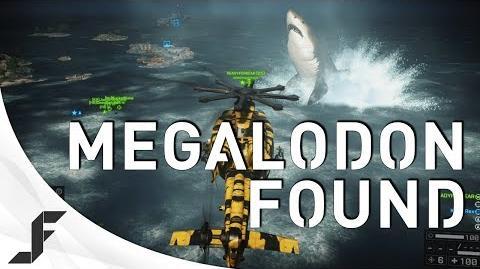MEGALODON FOUND! Battlefield 4 Giant Shark Easter Egg!