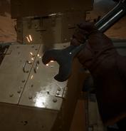 Repairing the Light Tank animation