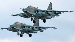 Sukhoi Su-25 pair