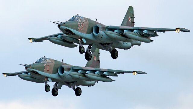 File:Sukhoi Su-25 pair.jpg