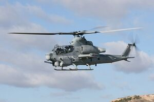 AH-1Z In-flight
