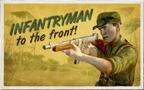 Infantryman Postcard