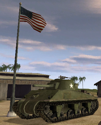 File:BF1942 M4 SHERMAN.png