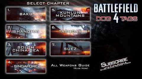Battlefield 4 - All Dog Tags - Interactive Guide
