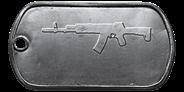 BF4 AK-12 Master Dog Tag