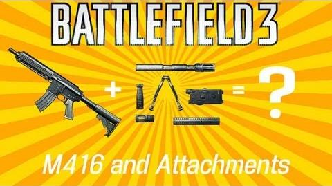 Battlefield 3 M416 Attachment Review