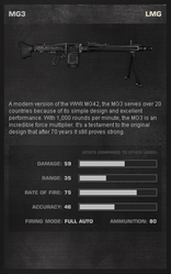 MG3StandardStats