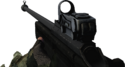 BFBC2 SV-98 Red Dot Sight