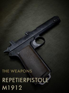 Repetierpistole M1912 Codex Entry