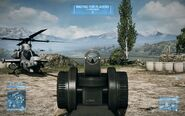 BF3 M98B Iron Sight