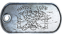 M-COM Defender Medal Dog Tag